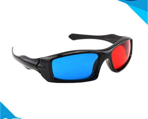 plastic anaglyphic 3d glasses
