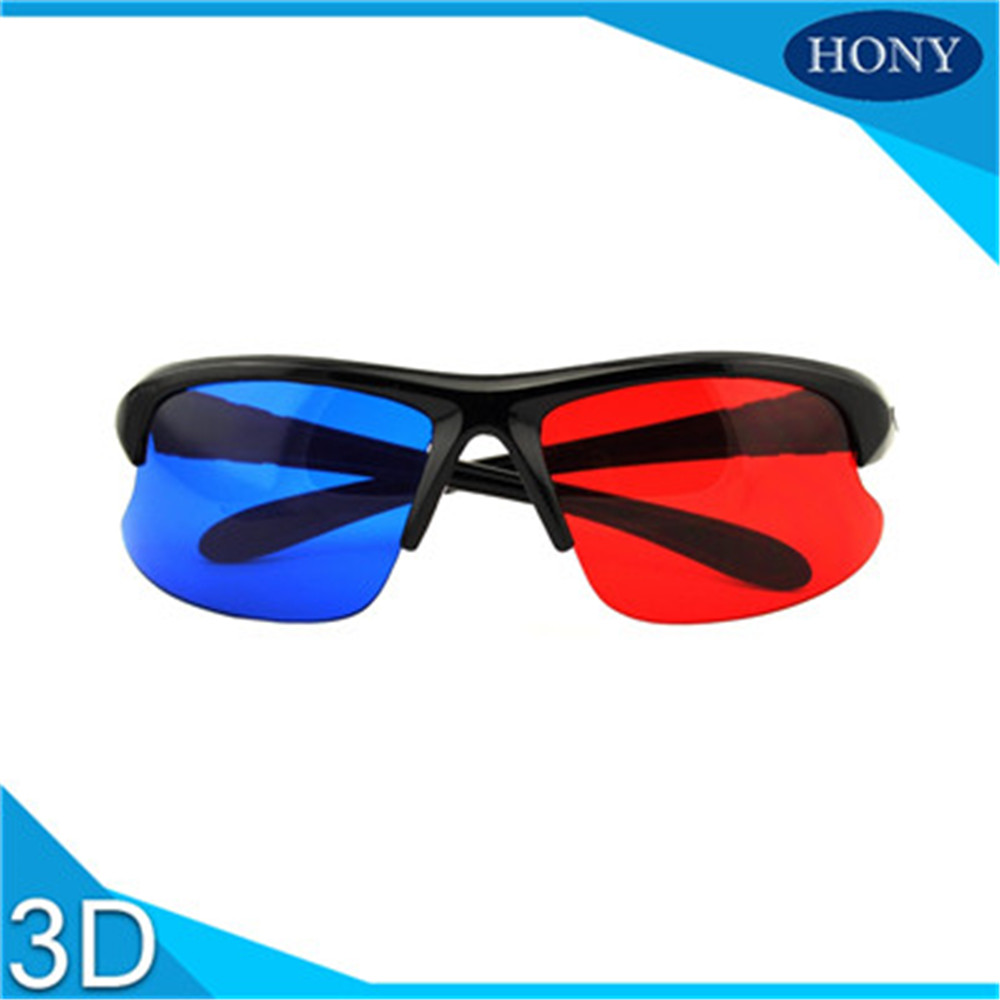 3D Glasses Plastic Red And Blue -PH0042