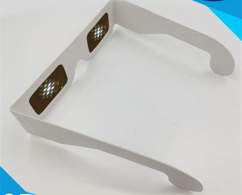 paper clear diffraction lens