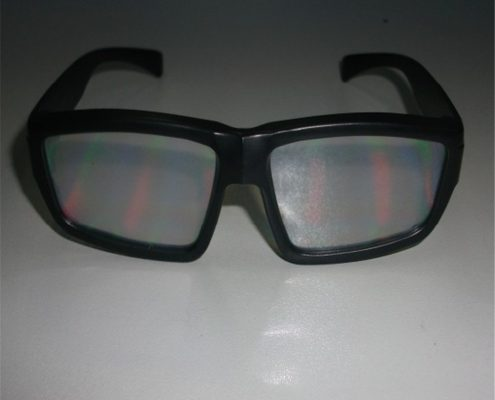 night club adult rainbow glasses