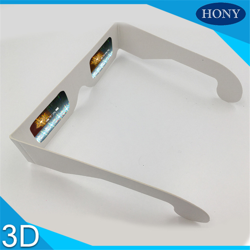 diffraction glasses paper snowflat