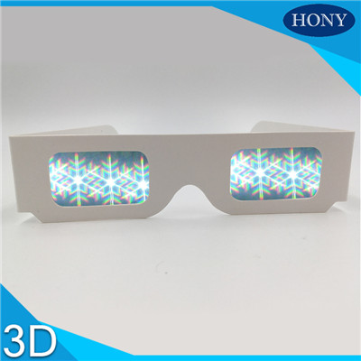 party snow laser glasses