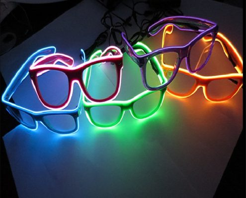 color el wire laser glasses