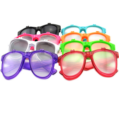color flip up diffraction glasses