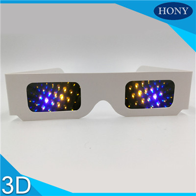 cardboard 13500 lines rainbow glasses