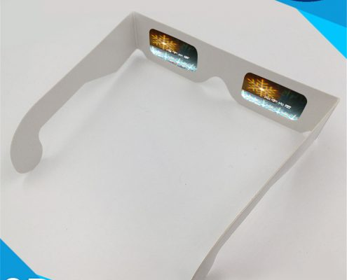 party snowflat diffraction glasses