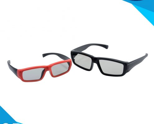 plastic linear polarized 3d glasses