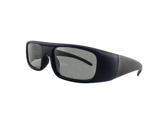 With hard coat both side anti scratch linear polarized 3D glasses for Imax PH0012CP