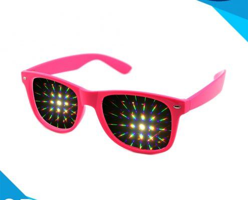 diffraction glasses pink