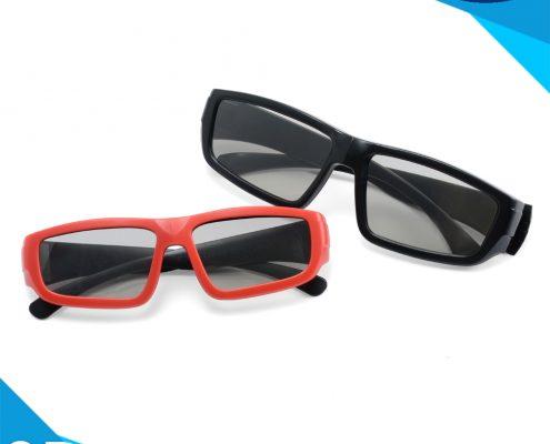 cinema use linear polarized 3d glasses