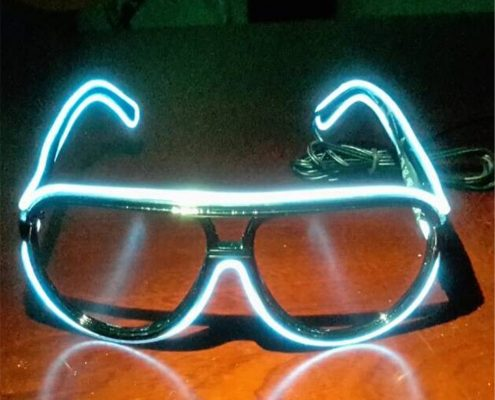 funky amazing el wire glasses
