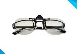 linear polarized clip on 3d glasses