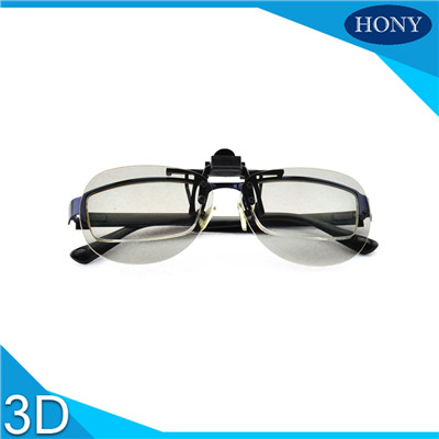 linear polarized clip on 3d glasses