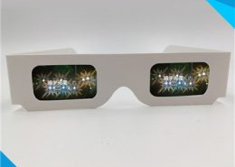 christmas party events diffraction glasses