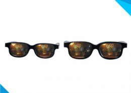conbination heart diffraction glasses