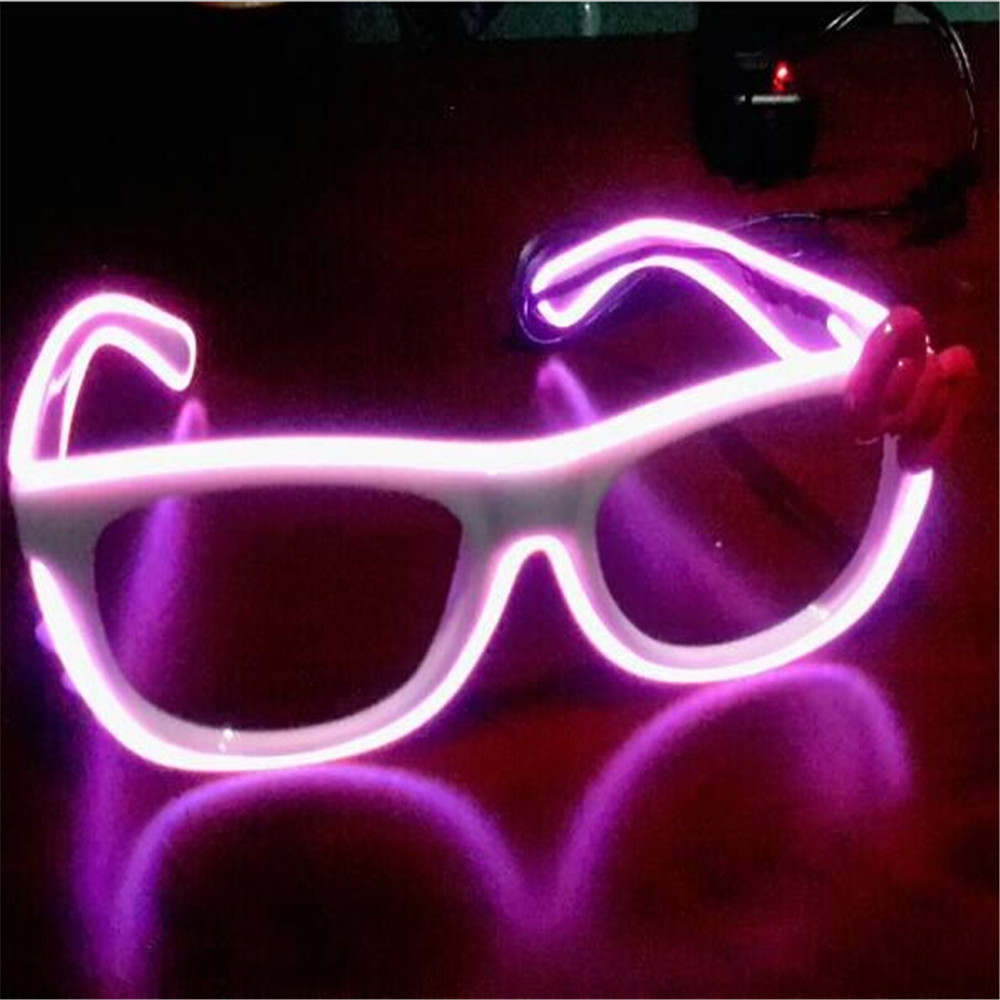 whire frame el wire rainbow glasses
